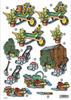 Gardening Die Cut Decoupage Sheet
