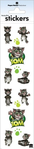 Tom Talking Friends Stickers - Paper House