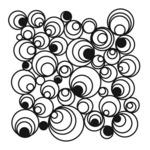 Mod Spirals 6 x 6 Template - Crafters Workshop