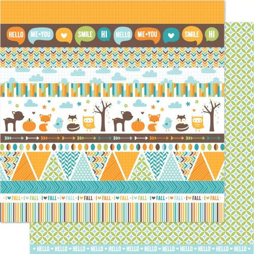 Juniper Paper - Into The Woods - Lawn Fawn