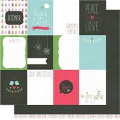 Joy Paper - Peace Joy Love - Lawn Fawn