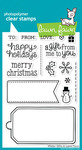 Winter Gifts Clear Stamps - Lawn Fawn