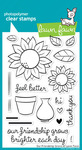Our Friendship Grows Clear Stamps - Lawn Fawn