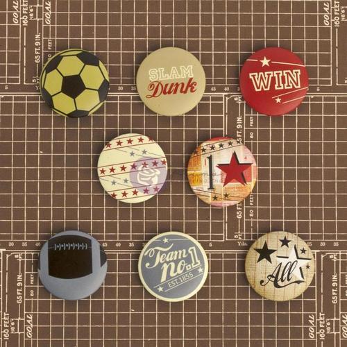 Allstar Flair Buttons - Prima