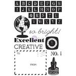School Memories Cling Mounted Stamps - Prima