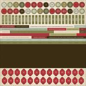 St. Nicholas Numbers 12 x 12 Sticker Sheet - KaiserCraft