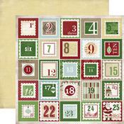 Christmas Countdown Paper - So This Is Christmas - Carta Bella