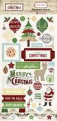 So This Is Christmas 6x13 Chipboard Sheet - Carta Bella