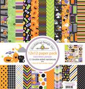 Halloween Parade 12 x 12 Paper Pack - Doodlebug