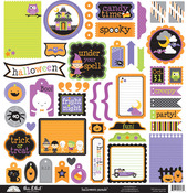 Halloween Parade This & That Sticker Sheet - Doodlebug