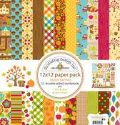 Happy Harvest 12 x 12 Collection Kit - Doodlebug