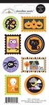 Halloween Parade Doodle Seals Stickers - Doodlebug