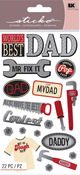 Fix It Dad Stickers - Sticko