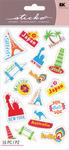 Travel Destinations Stickers - Sticko