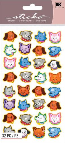 Dog Cuties Stickers - Sticko