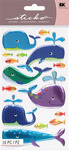 Happy Whales Stickers - Sticko