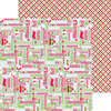 Holiday Cheer Paper - Home For The Holidays - Doodlebug
