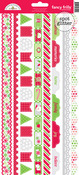 Home For The Holidays Fancy Frills Stickers - Doodlebug