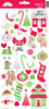 Home For The Holidays Icon Stickers - Doodlebug