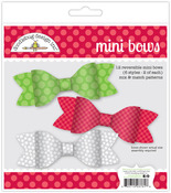Home For The Holidays Mini Bows Craft Kit - Doodlebug