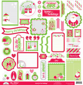 Home For The Holidays This & That Sticker Sheet - Doodlebug