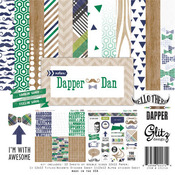 Dapper Dan 12 x 12 Collection Pack - Glitz