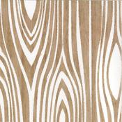 Woodgrain Paper - Dapper Dan - Glitz