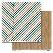 Stripes Paper - Dapper Dan - Glitz