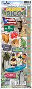 Puerto Rico Cardstock Stickers - Paperhouse