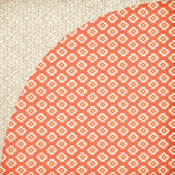Pumpkin Spice Paper - Persimmon - Basic Grey