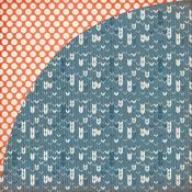 Gingersnap Paper - Persimmon - Basic Grey