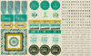 Natural Element Sticker Sheet - Authentique