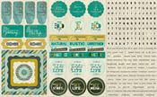 Natural Element Sticker Sheet - Authentique