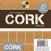 The Adhesive Cork Stack - Die Cuts With A View