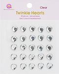 Clear Twinkle Hearts - Queen & Co