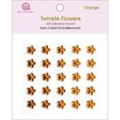 Orange Twinkle Flowers - Queen & Co
