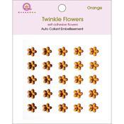 Orange Twinkle Flowers - Queen & Co