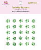 Green Twinkle Flowers - Queen & Co