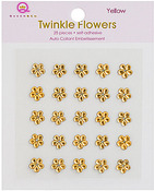 Yellow Twinkle Flowers - Queen & Co