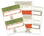 Season's Greetings Envelope Wraps - We R Memory Keepers