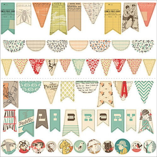 Public Library Sew Fun Banners - October Afternoon