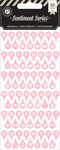 Pink Typecast Alpha Stickers - Sentiment Series - Pink Paislee
