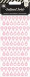Pink Typecast Alpha Stickers - Sentiment Series - Pink Paislee