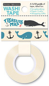 Anchor's Away Washi Tape - Treasure Map - October Afternoon