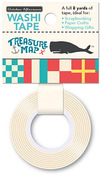 Nautical Flags Washi Tape - Treasure Map - October Afternoon