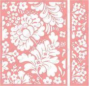 Blossom Dance Embossing Folder & Border Set - Cuttlebug - Cricut