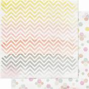 Colorful Paper - Color Wash - Pink Paislee