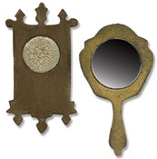Mini Mirror & Wall Clock Movers & Shapers Die Set - Tim Holtz Alterations
