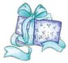 Sweet Christmas Gift Cling Stamp - Magnolia