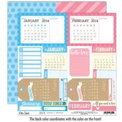 January & February Calendar Paper - 2014 - Elle's Studio